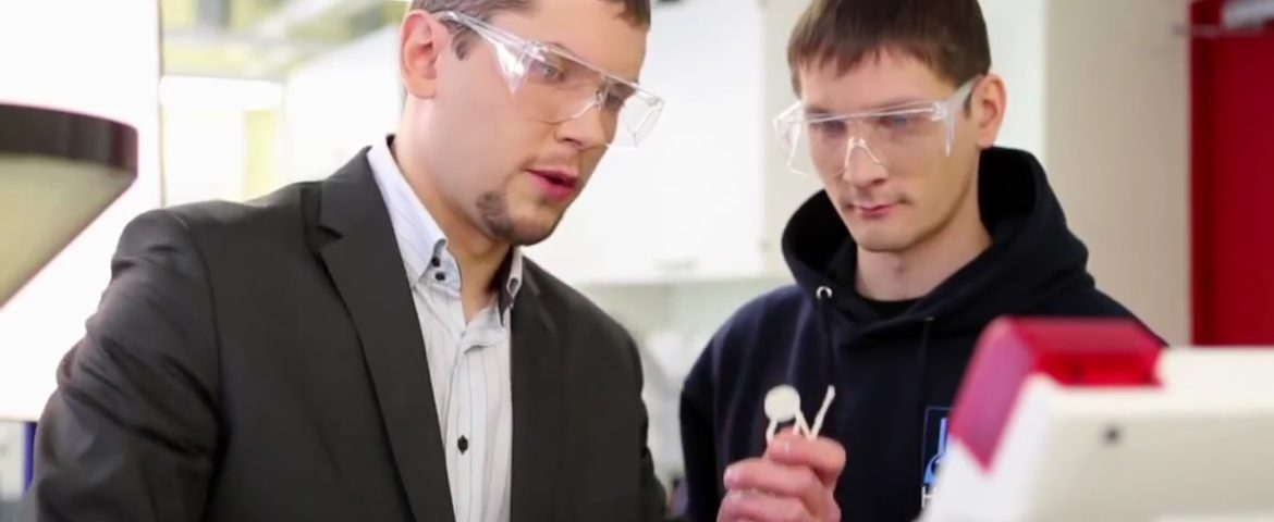 Material training in Tallinn University of Technology