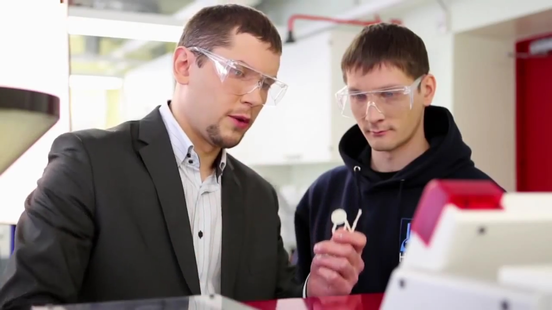 Material training in Tallinn University of Technology