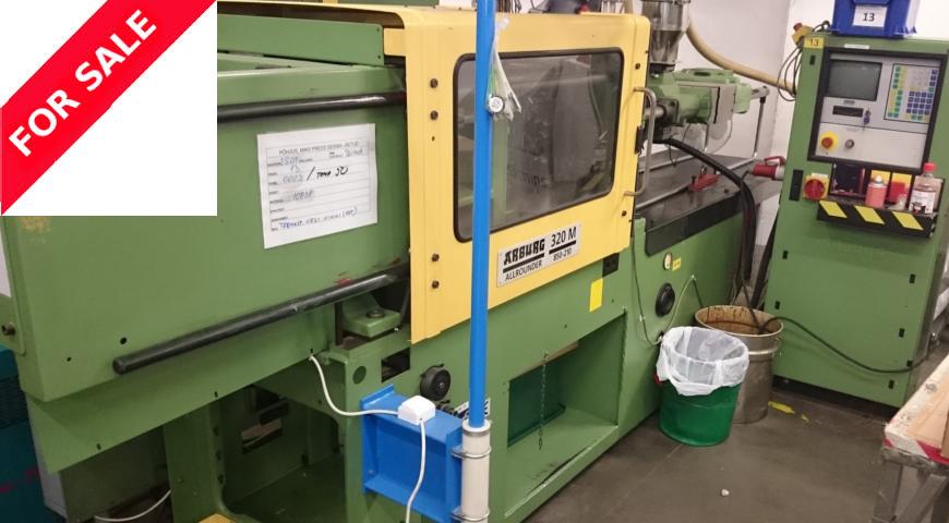 Talent Plastics Tallinn pakub müügiks survevalu masinaid